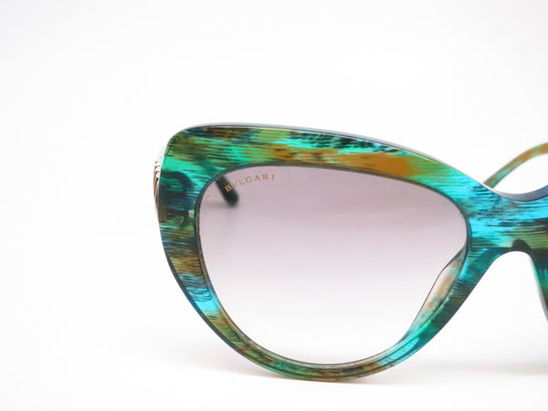 Bvlgari BV 8143B 5340/8E Green Aqua Sunglasses - Eye Heart Shades - Bvlgari - Sunglasses - 4