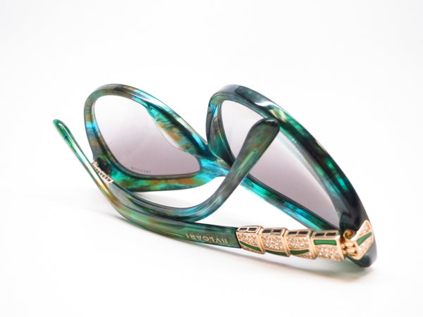 Bvlgari BV 8143B 5340/8E Green Aqua Sunglasses - Eye Heart Shades - Bvlgari - Sunglasses - 8