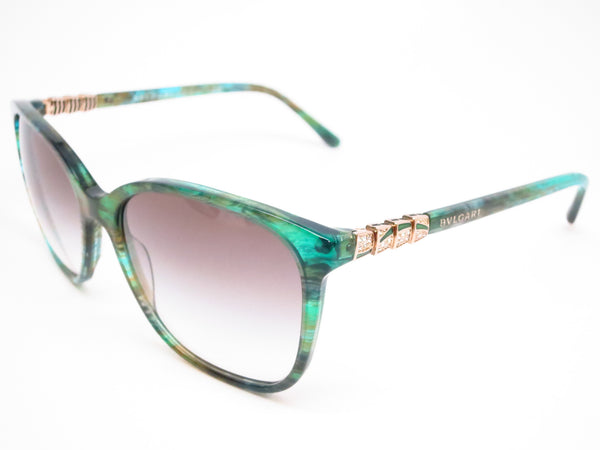 Bvlgari BV 8152B 5340/8E Green Aqua Fantasy Sunglasses - Eye Heart Shades - Bvlgari - Sunglasses - 1