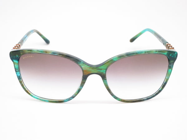Bvlgari BV 8152B 5340/8E Green Aqua Fantasy Sunglasses - Eye Heart Shades - Bvlgari - Sunglasses - 2