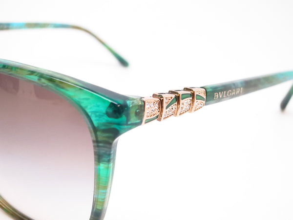Bvlgari BV 8152B 5340/8E Green Aqua Fantasy Sunglasses - Eye Heart Shades - Bvlgari - Sunglasses - 3