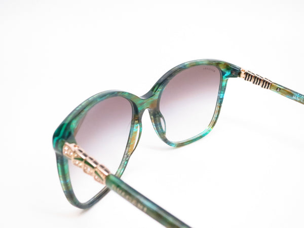 Bvlgari BV 8152B 5340/8E Green Aqua Fantasy Sunglasses - Eye Heart Shades - Bvlgari - Sunglasses - 6