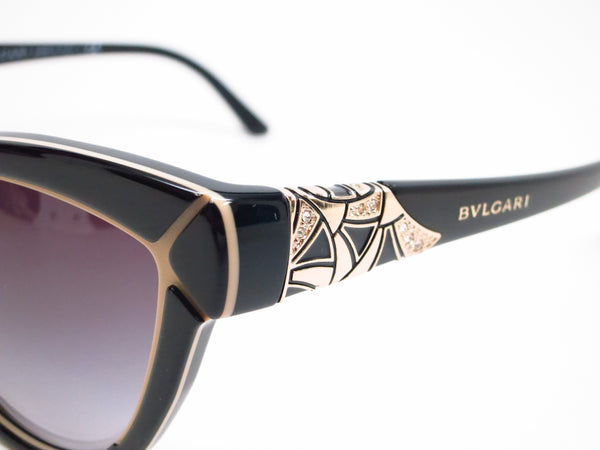 Bvlgari BV 8156B 5352/8G Black / Beige Sunglasses - Eye Heart Shades - Bvlgari - Sunglasses - 3