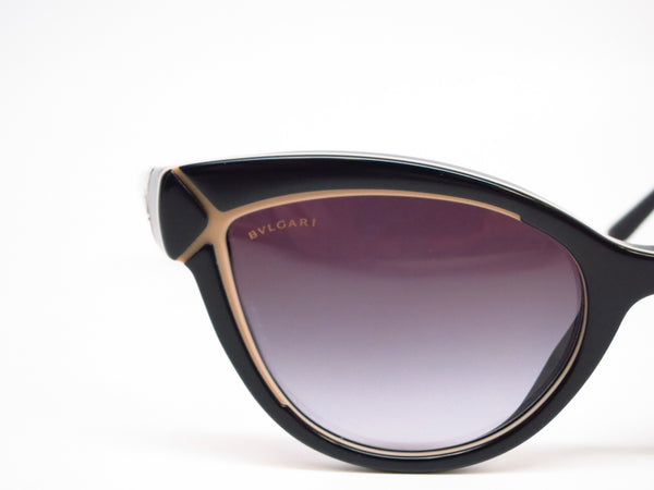 Bvlgari BV 8156B 5352/8G Black / Beige Sunglasses - Eye Heart Shades - Bvlgari - Sunglasses - 4