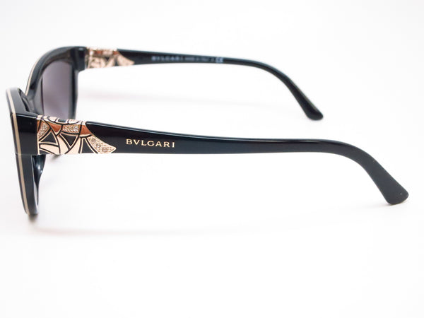 Bvlgari BV 8156B 5352/8G Black / Beige Sunglasses - Eye Heart Shades - Bvlgari - Sunglasses - 5