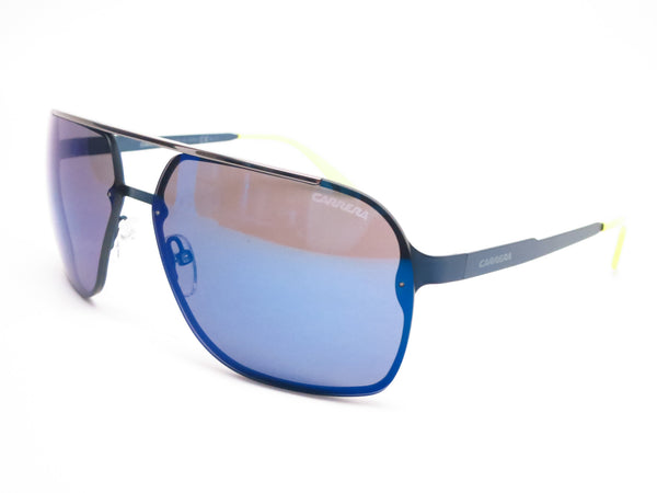 Carrera 91/S 5R1XT Semi Matte Blue Sunglasses - Eye Heart Shades - Carrera - Sunglasses - 1