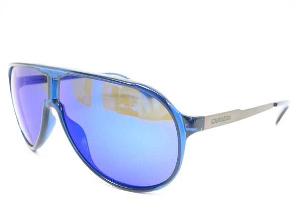 Carrera New Champion 8FSZ0 Blue Ruthenium Sunglasses - Eye Heart Shades - Carrera - Sunglasses - 1