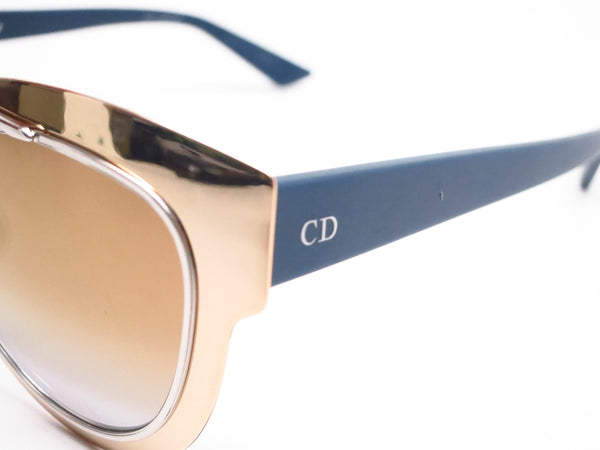 Dior Chromic LML9F Gold Palladium Blue Sunglasses - Eye Heart Shades - Dior - Sunglasses - 3
