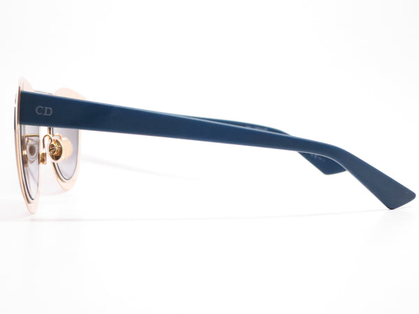 Dior Chromic LML9F Gold Palladium Blue Sunglasses - Eye Heart Shades - Dior - Sunglasses - 5