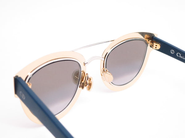 Dior Chromic LML9F Gold Palladium Blue Sunglasses - Eye Heart Shades - Dior - Sunglasses - 6