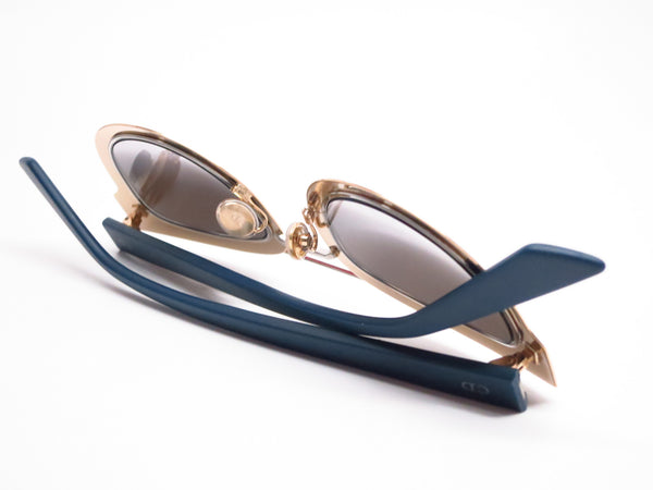 Dior Chromic LML9F Gold Palladium Blue Sunglasses - Eye Heart Shades - Dior - Sunglasses - 8