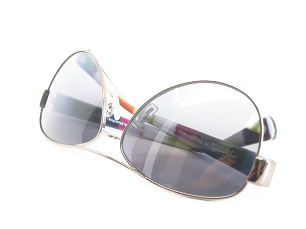 Coach HC 7003 Kristina 9010/T3 Dark Silver / Pink Polarized Sunglasses - Eye Heart Shades - Coach - Sunglasses - 11