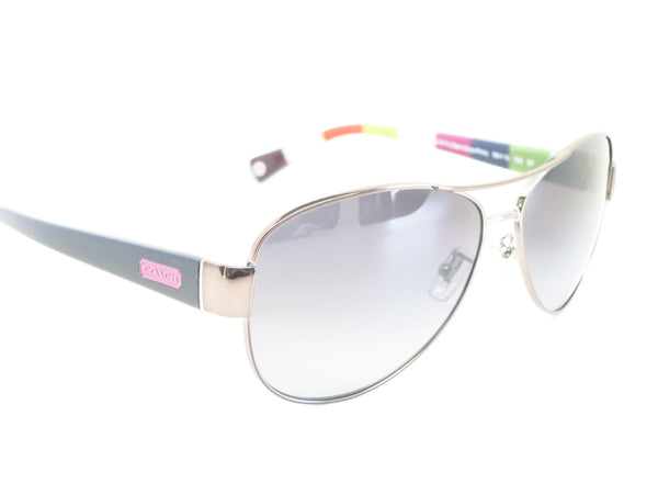 Coach HC 7003 Kristina 9010/T3 Dark Silver / Pink Polarized Sunglasses - Eye Heart Shades - Coach - Sunglasses - 3