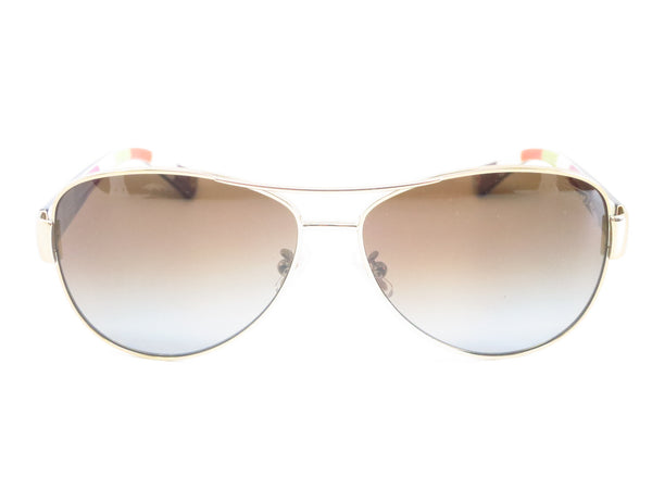 Coach HC 7003 Kristina 9013/T5 Gold / Brown Polarized Sunglasses - Eye Heart Shades - Coach - Sunglasses - 2