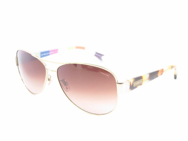 Coach HC 7003 Kristina 9014/13 Gold / Olive Sunglasses - Eye Heart Shades - Coach - Sunglasses - 1