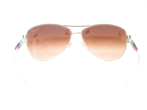Coach HC 7003 Kristina 9051/13 Gold / White Sunglasses - Eye Heart Shades - Coach - Sunglasses - 10