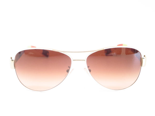 Coach HC 7003 Kristina 9051/13 Gold / White Sunglasses - Eye Heart Shades - Coach - Sunglasses - 2