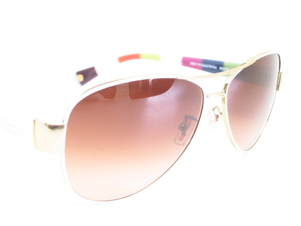 Coach HC 7003 Kristina 9051/13 Gold / White Sunglasses - Eye Heart Shades - Coach - Sunglasses - 3