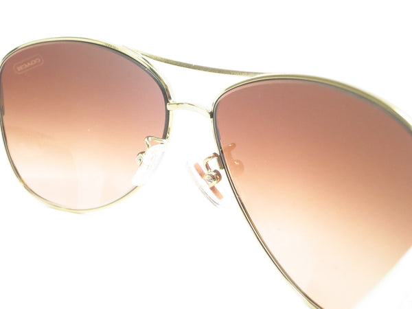 Coach HC 7003 Kristina 9051/13 Gold / White Sunglasses - Eye Heart Shades - Coach - Sunglasses - 6