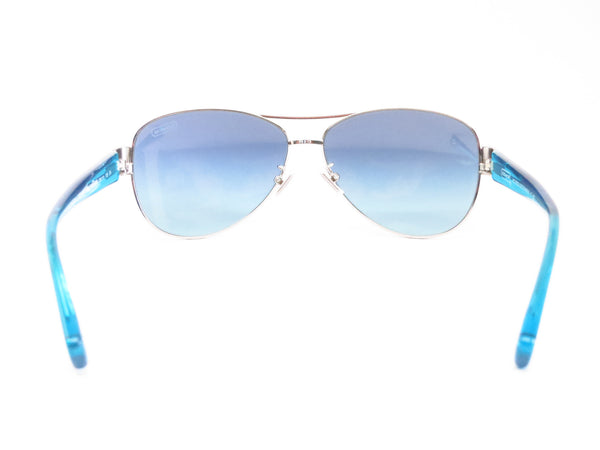 Coach HC 7003 Kristina 9124/4S Silver / Turquoise Sunglasses - Eye Heart Shades - Coach - Sunglasses - 10