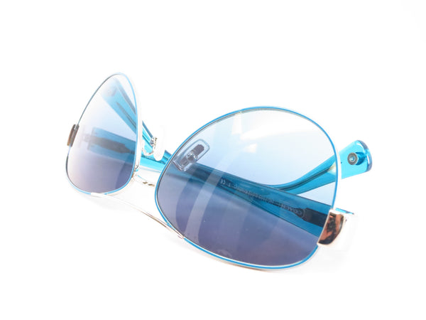 Coach HC 7003 Kristina 9124/4S Silver / Turquoise Sunglasses - Eye Heart Shades - Coach - Sunglasses - 11