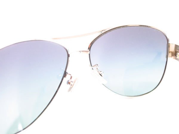 Coach HC 7003 Kristina 9124/4S Silver / Turquoise Sunglasses - Eye Heart Shades - Coach - Sunglasses - 6