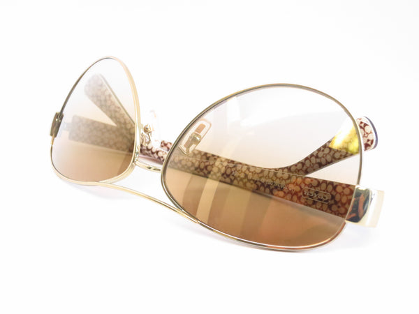 Coach HC 7003 Kristina 9176/6E Gold / Tortoise Sand Signature C Sunglasses - Eye Heart Shades - Coach - Sunglasses - 10