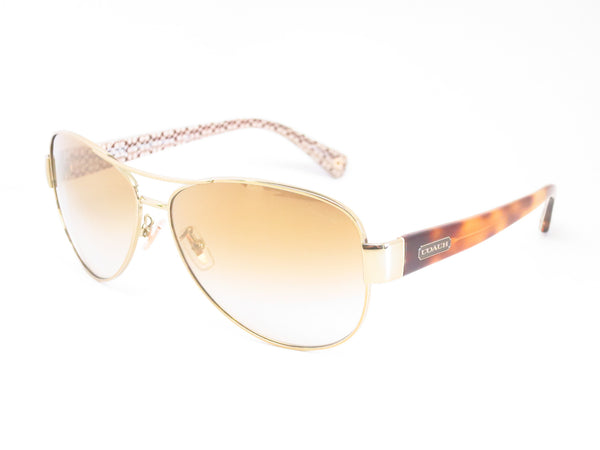 Coach HC 7003 Kristina 9176/6E Gold / Tortoise Sand Signature C Sunglasses - Eye Heart Shades - Coach - Sunglasses - 1
