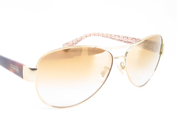 Coach HC 7003 Kristina 9176/6E Gold / Tortoise Sand Signature C Sunglasses - Eye Heart Shades - Coach - Sunglasses - 3