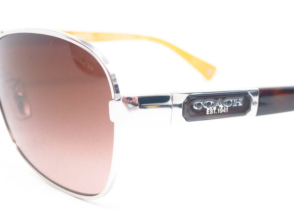Coach HC 7012 Caroline 9101/13 Silver/Dark Tortoise Sunglasses - Eye Heart Shades - Coach - Sunglasses - 3
