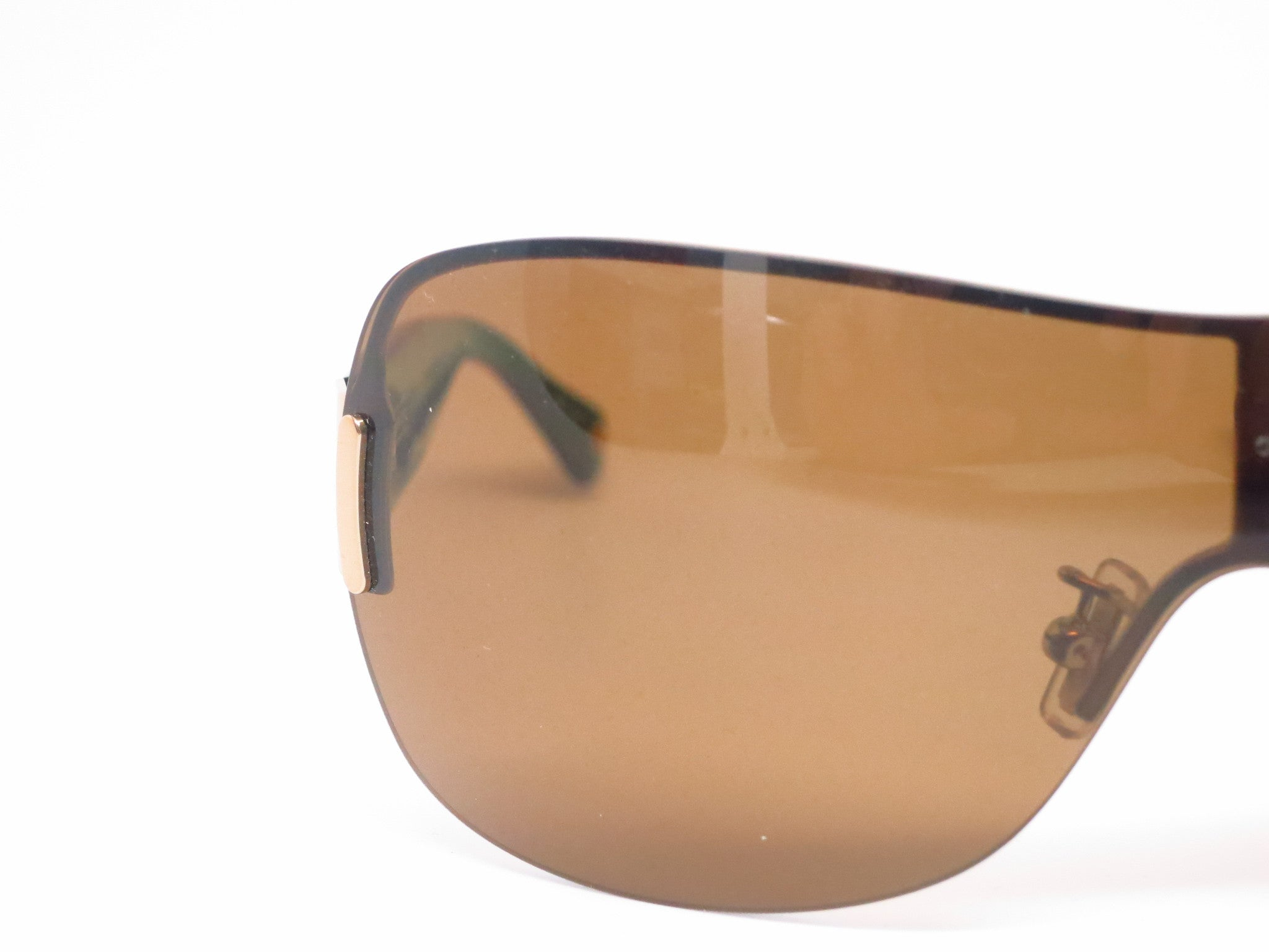 d1c8ce1f1f ... Coach HC 7018BM Danielle 9053 83 Gold Black Polarized Sunglasses - Eye  Heart Shades ...