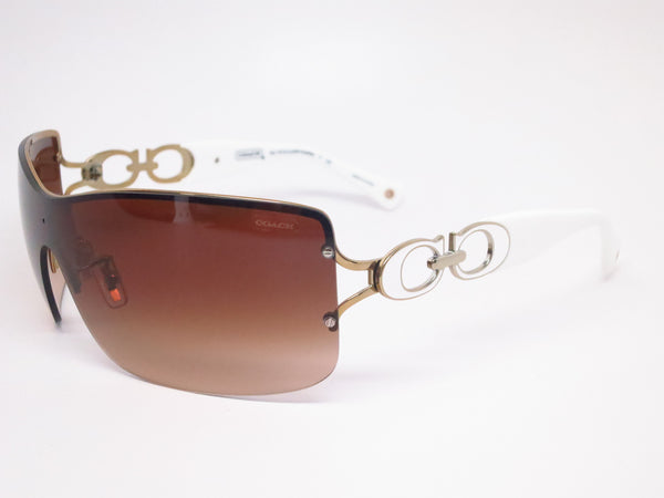 Coach HC 7018 Noelle 9118/13 Gold/White Sunglasses - Eye Heart Shades - Coach - Sunglasses - 1