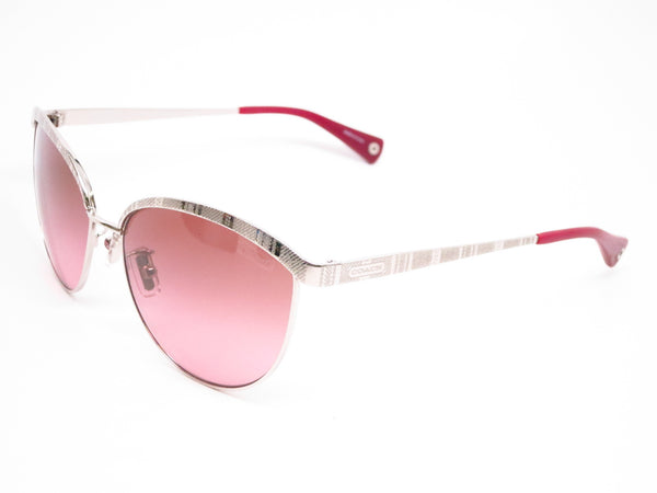 Coach HC 7027 Catrice 9001/14 Silver Sunglasses - Eye Heart Shades - Coach - Sunglasses - 1