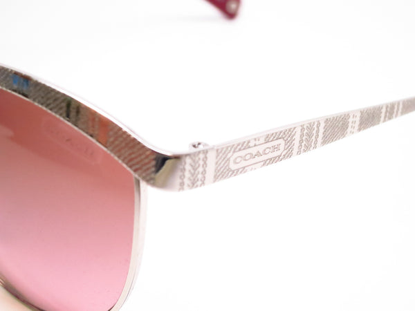 Coach HC 7027 Catrice 9001/14 Silver Sunglasses - Eye Heart Shades - Coach - Sunglasses - 3