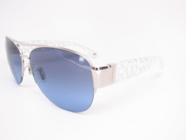 Coach HC 7042 Addison 9177/17 Silver/crystal Silver Sunglasses - Eye Heart Shades - Coach - Sunglasses - 1