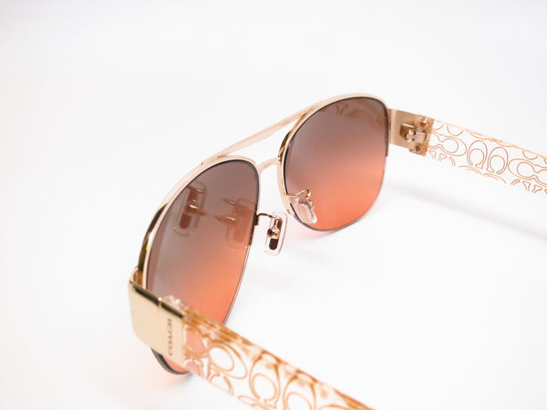 Coach HC 7042 Addison 9178/95 Gold/Crystal Gold Sunglasses - Eye Heart Shades - Coach - Sunglasses - 5