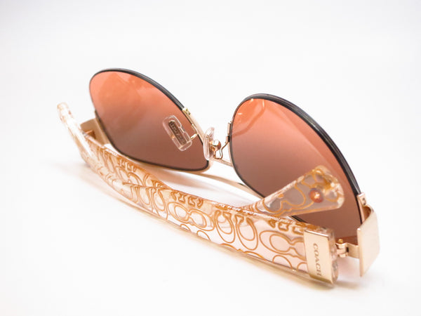 Coach HC 7042 Addison 9178/95 Gold/Crystal Gold Sunglasses - Eye Heart Shades - Coach - Sunglasses - 7