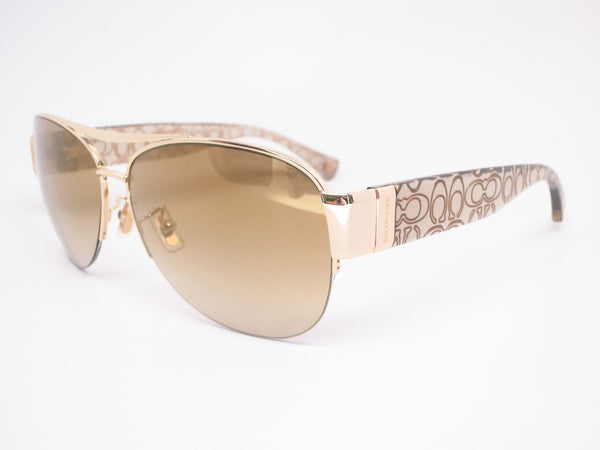 ff11929cba Coach HC 7042 Addison 9180 6E Gold Khaki Crystal Gold Sunglasses - Eye Heart