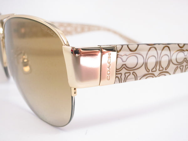Coach HC 7042 Addison 9180/6E Gold/Khaki Crystal Gold Sunglasses - Eye Heart Shades - Coach - Sunglasses - 3
