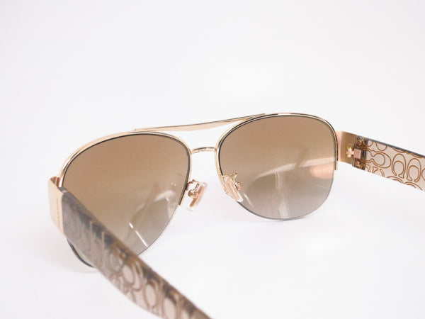 Coach HC 7042 Addison 9180/6E Gold/Khaki Crystal Gold Sunglasses - Eye Heart Shades - Coach - Sunglasses - 6