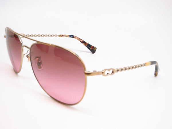 Coach HC 7045 9190/14 Bree Gold / Dark Vintage Tortoise Sunglasses - Eye Heart Shades - Coach - Sunglasses - 1