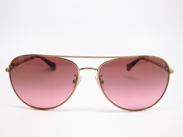 Coach HC 7045 9190/14 Bree Gold / Dark Vintage Tortoise Sunglasses - Eye Heart Shades - Coach - Sunglasses - 2