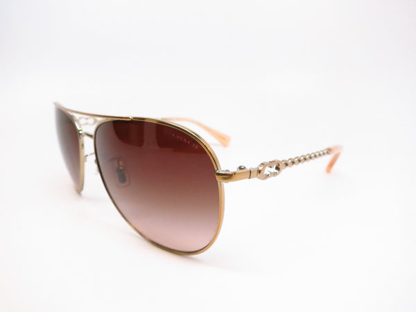 Coach HC 7045 Bree 9191/13 Gold Milky Honey Sunglasses - Eye Heart Shades - Coach - Sunglasses - 1