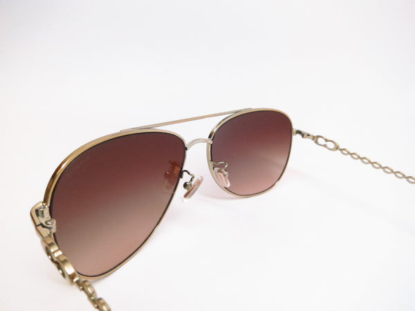 Coach HC 7045 Bree 9191/13 Gold Milky Honey Sunglasses - Eye Heart Shades - Coach - Sunglasses - 6