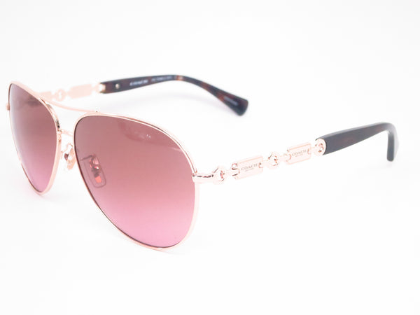 Coach HC 7048 9209/14 Light Gold / Dark Tortoise Sunglasses - Eye Heart Shades - Coach - Sunglasses - 1