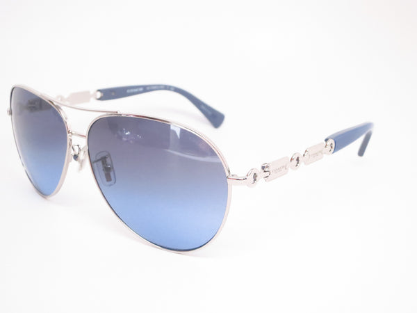 Coach HC 7048 9210/17 Silver/Blue Light Blue Sunglasses - Eye Heart Shades - Coach - Sunglasses - 1