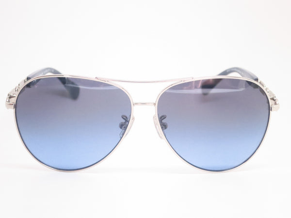 Coach HC 7048 9210/17 Silver/Blue Light Blue Sunglasses - Eye Heart Shades - Coach - Sunglasses - 2