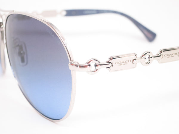Coach HC 7048 9210/17 Silver/Blue Light Blue Sunglasses - Eye Heart Shades - Coach - Sunglasses - 3