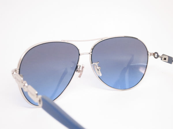Coach HC 7048 9210/17 Silver/Blue Light Blue Sunglasses - Eye Heart Shades - Coach - Sunglasses - 6