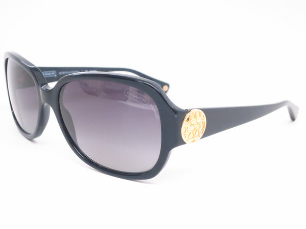 Coach HC 8015 Allie 5002/T3 Black Polarized Sunglasses - Eye Heart Shades - Coach - Sunglasses - 1